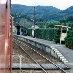 タイムスリップ、昭和61年の国鉄二俣線西気賀駅