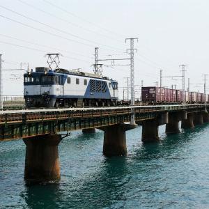 第1浜名橋梁の3075レ EF64-1027   2020.4.16