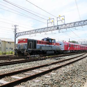 高塚駅の東京メトロ2000系2122編成甲種輸送 その2