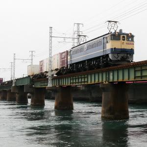 第1浜名橋梁の5087レ EF65-2067   2020.6.6