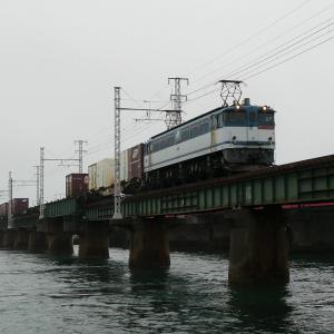 第1浜名橋梁の5087レ EF65-2087    2020.6.13