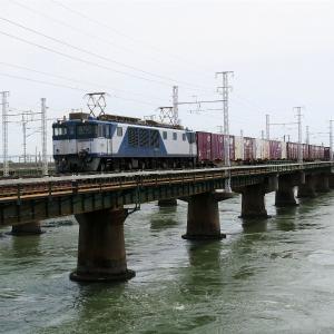 第1浜名橋梁の3075レ EF64-1020    2020.6.20