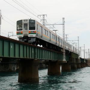 第1浜名橋梁の211系6000番台