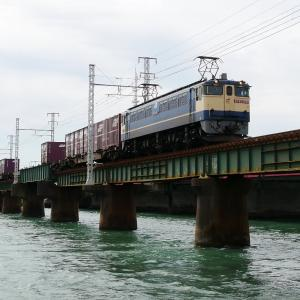 第1浜名橋梁の5087レ EF65-2070    2020.7.12