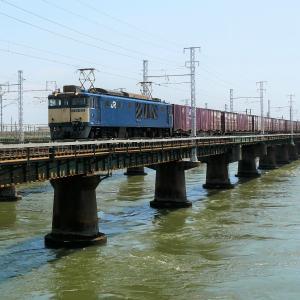 第1浜名橋梁の3075レ EF64-1022     2020.8.1