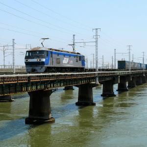 第1浜名橋梁の2053レ EF210-123    2020.8.1