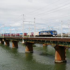 第1浜名橋梁の8052レ EF210-131    2020.9.12
