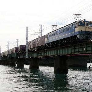 第1浜名橋梁の5087レ EF65-2074   2020.9.19