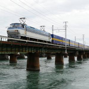第1浜名橋梁のカンガルーライナー EF66-124    2020.9.19