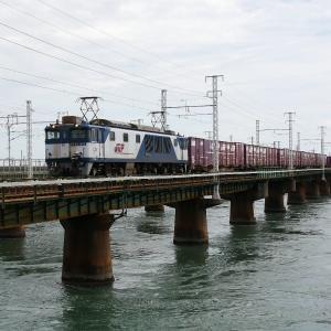 第1浜名橋梁の3075レ EF64-1002    2020.9.19