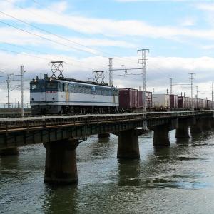 第1浜名橋梁の5087レ EF65-2117   2020.9.26