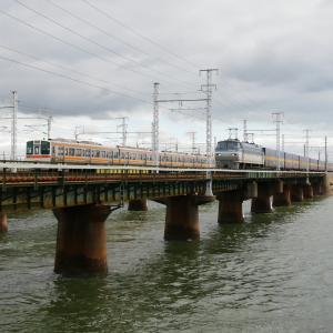 第1浜名橋梁のカンガルーライナー EF66-117    2020.9.26