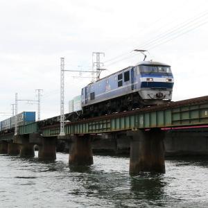 第1浜名橋梁のトヨロン EF210-111   2020.9.26