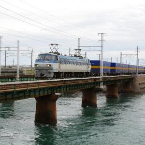 第1浜名橋梁のカンガルーライナー EF66-111   2020.10.18