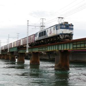 第1浜名橋梁の3075レ EF64-1042   2020.10.18