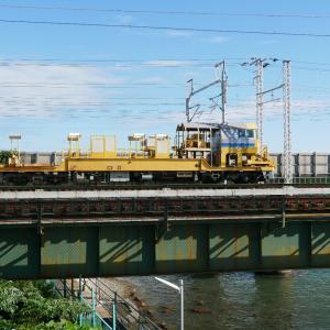 第1浜名橋梁のロンキヤと5087レ 2020.10.24