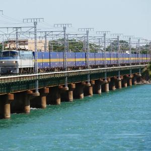 第3浜名橋梁のカンガルーライナー EF66-115   2020.10.24