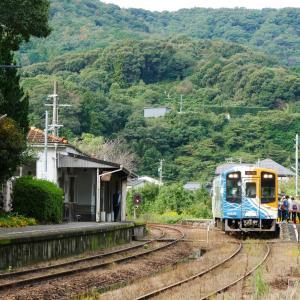 秋の天竜浜名湖鉄道 西気賀駅にぶらり旅
