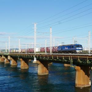 第1浜名橋梁の5052レ EF210-6   2020.11.28