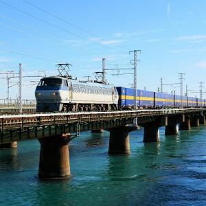 第1浜名橋梁のカンガルーライナー EF66-111    2020.11.28