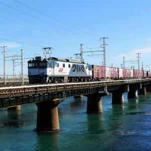 第1浜名橋梁の3075レ EF64-1035   2020.11.28