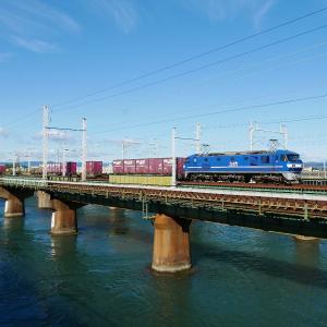 第1浜名橋梁の8052レ EF210-9    2020.11.28