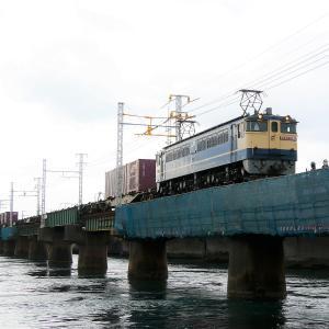 第1浜名橋梁の5087レ EF65-2096   2021.6.12