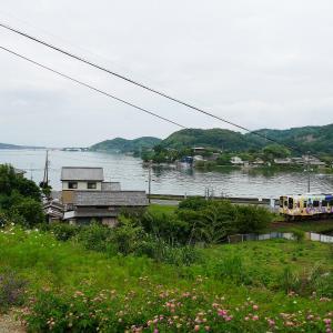 梅雨空の天竜浜名湖鉄道 プリンス岬と「うなぴっぴごー!」
