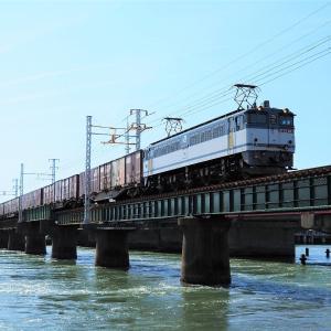 第1浜名橋梁の5087レ EF65-2117    2021-7-23