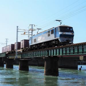 第1浜名橋梁の1073レ、5091レ  2021.7.23