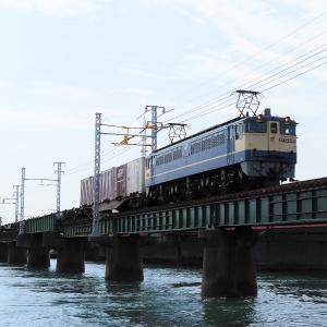 第1浜名橋梁の5087レ EF65-2092    2021.7.31