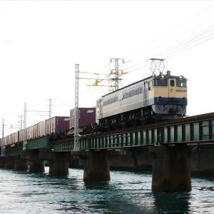 第1浜名橋梁の5087レ EF65-2083   2021.9.11