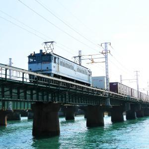 第1浜名橋梁の5087レ EF65-2063   2021.9.23
