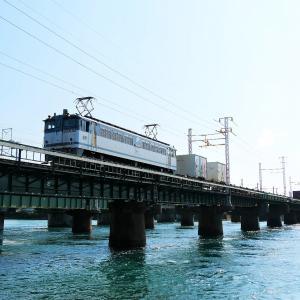 第1浜名橋梁の5087レ他   2021.9.25