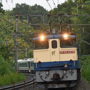 2020年9月26日 甲種輸送 東武鉄道500系リバティ