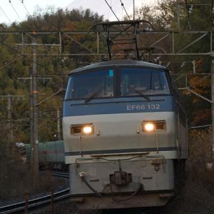 2020年12月20日 54レ EF66-132牽引 富士山バック
