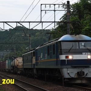 2021年6月25日 5085レEF210-301+PFムド付き富士山入り