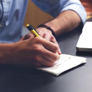 思考の整理には、書き出すのが一番分かりやすい