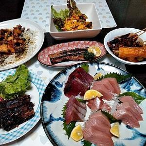 串本産養殖マグロと鹿児島産メバチマグロのお刺身♪♪・・・包丁のプレゼントは、刃物屋ドットコムにお任せ下さい!!