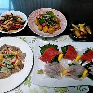 串本産ウメイロと本マグロのお刺身とツメバイ貝♪♪・・・包丁のプレゼントは、刃物屋ドットコムにお任せ下さい!!
