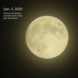 【月の暦】今日7月5日13時44分は、山羊座の満月です