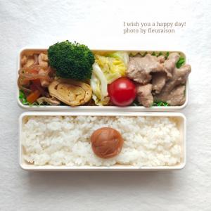 【食育日記】5/10No.1326♡西京味噌で「豚肉の西京焼き弁当」
