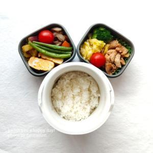 【食育日記 】5/14No.1327♡調味料はそのまま、具材を替えるだけ♡今週の息子弁当まとめ