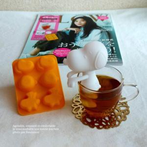 ◆リビングWeb◆セブンイレブン限定!GLOW9月号増刊「スヌーピーのシリコン茶こし」がカワイイ
