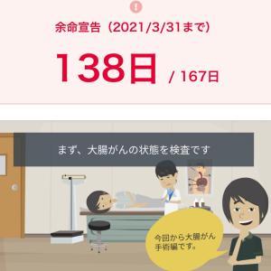 2020年11月23日4コマ絵日記 大腸ガン手術編