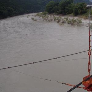 大千瀬川では竿を出し♫