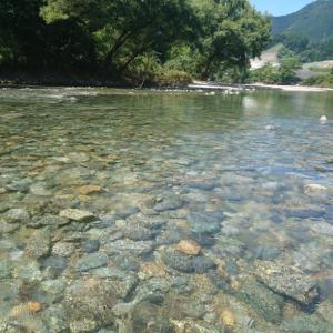 大千瀬川との出合~測水まで探索