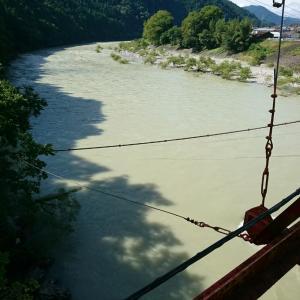 釣りが出来ない河川・・・