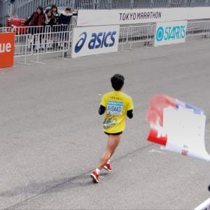 東京マラソン、やっと当たったのに~!