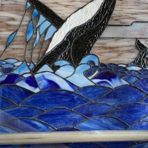 鯨のパネル(10)